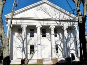 Nantucket United Methodist Church front view